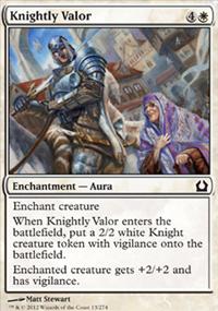 Knightly Valor - Return to Ravnica