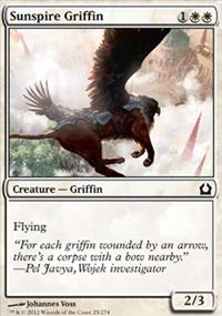 Sunspire Griffin - Return to Ravnica