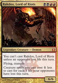 Rakdos, Lord of Riots - Return to Ravnica