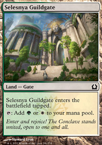 Selesnya Guildgate - Return to Ravnica