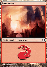 Mountain 3 - Return to Ravnica