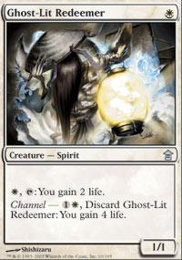 Ghost-Lit Redeemer - Saviors of Kamigawa