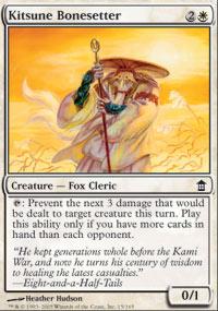 Kitsune Bonesetter - Saviors of Kamigawa