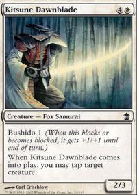 Kitsune Dawnblade - Saviors of Kamigawa