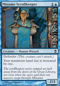 Minamo Scrollkeeper - Saviors of Kamigawa