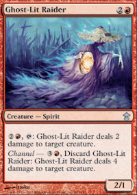 Ghost-Lit Raider - Saviors of Kamigawa