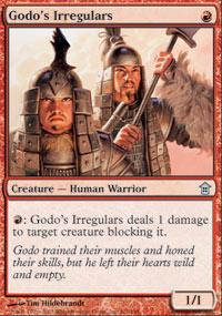 Godo's Irregulars - Saviors of Kamigawa