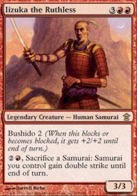 Iizuka the Ruthless - Saviors of Kamigawa