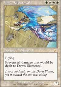 Dawn Elemental - Scourge