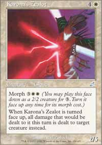 Karona's Zealot - Scourge