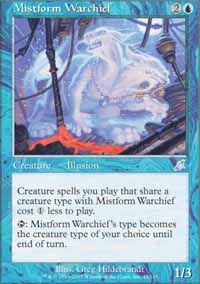 Mistform Warchief - Scourge