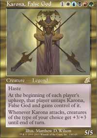 Karona, False God - Scourge