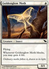 Goldenglow Moth - Shadowmoor