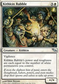 Kithkin Rabble - Shadowmoor