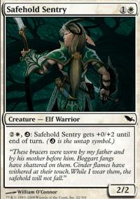 Safehold Sentry - Shadowmoor