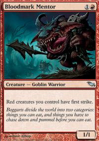 Bloodmark Mentor - Shadowmoor