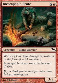 Inescapable Brute - Shadowmoor