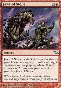 Jaws of Stone - Shadowmoor
