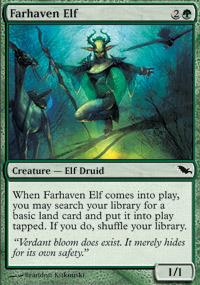 Farhaven Elf - Shadowmoor