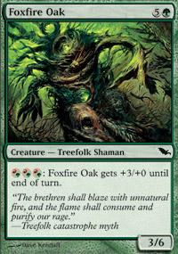 Foxfire Oak - Shadowmoor