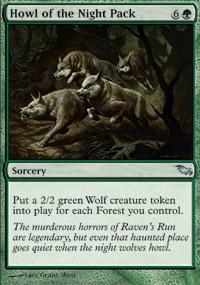 Howl of the Night Pack - Shadowmoor