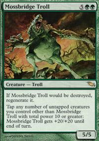 Mossbridge Troll - Shadowmoor