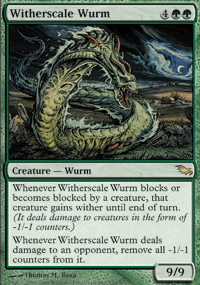 Witherscale Wurm - Shadowmoor