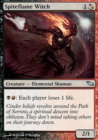Spiteflame Witch - Shadowmoor