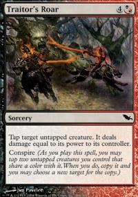 Traitor's Roar - Shadowmoor