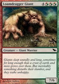 Loamdragger Giant - Shadowmoor