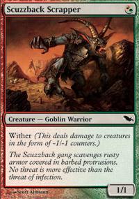 Scuzzback Scrapper - Shadowmoor