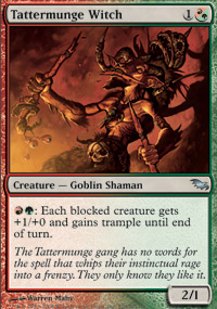 Tattermunge Witch - Shadowmoor