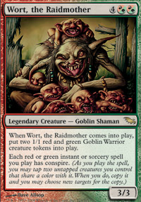 Wort, the Raidmother - Shadowmoor