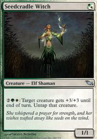 Seedcradle Witch - Shadowmoor