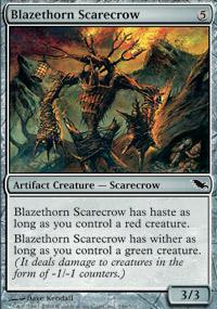 Blazethorn Scarecrow - Shadowmoor
