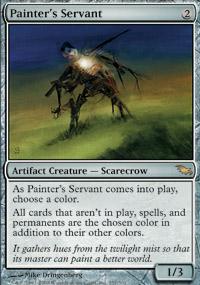 Painter's Servant - Shadowmoor