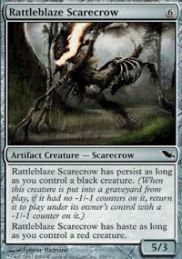 Rattleblaze Scarecrow - Shadowmoor
