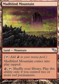 Madblind Mountain - Shadowmoor