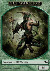 Elf Warrior - Shadowmoor