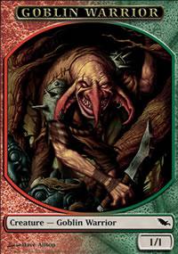 Goblin Warrior - Shadowmoor