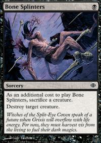 Bone Splinters - Shards of Alara