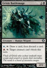 Grixis Battlemage - Shards of Alara
