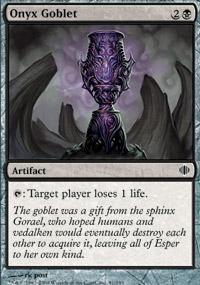 Onyx Goblet - Shards of Alara