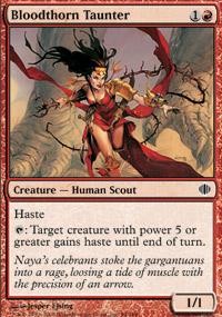 Bloodthorn Taunter - Shards of Alara