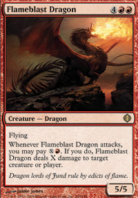 Flameblast Dragon - Shards of Alara