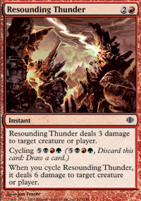 Resounding Thunder - Shards of Alara