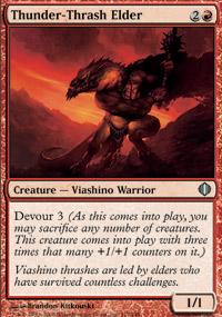Thunder-Thrash Elder - Shards of Alara