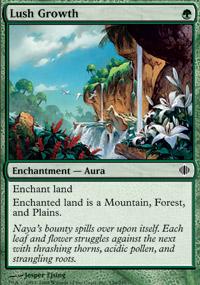 Lush Growth - Shards of Alara
