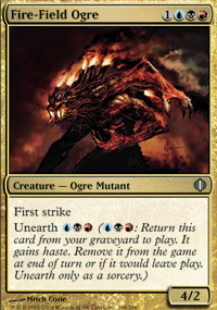 Fire-Field Ogre - Shards of Alara
