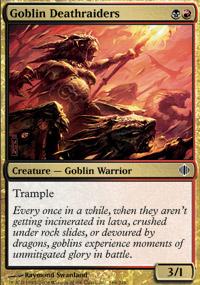 Goblin Deathraiders - Shards of Alara